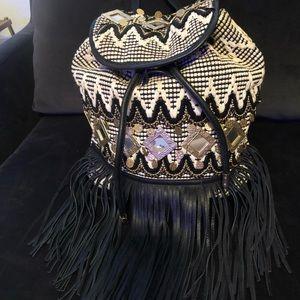 Bohemian Leather Rebecca Minkoff Backpack
